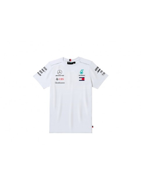 T-shirt homme, Pilote - blanc