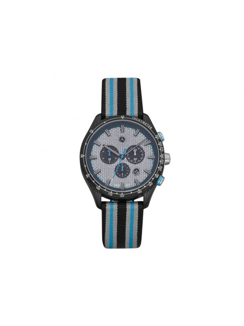 Montre-chrono homme, Montre Motorsport, Silver