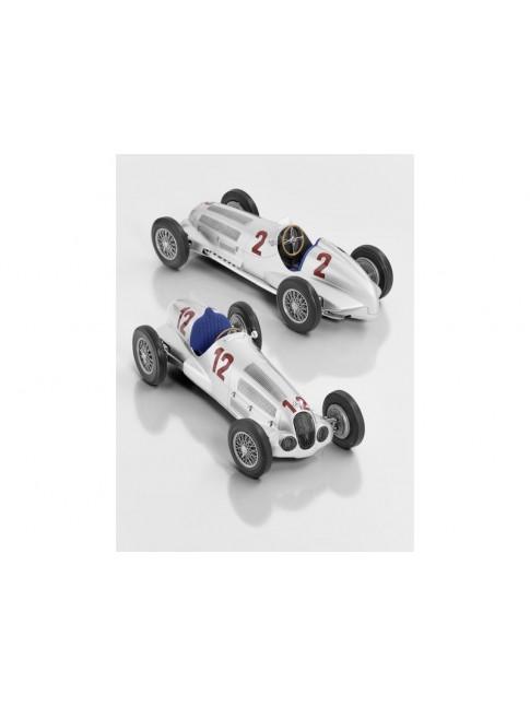 W 125 - R. Caracciola, vainqueur du Grand Prix d'Allemagne 1937