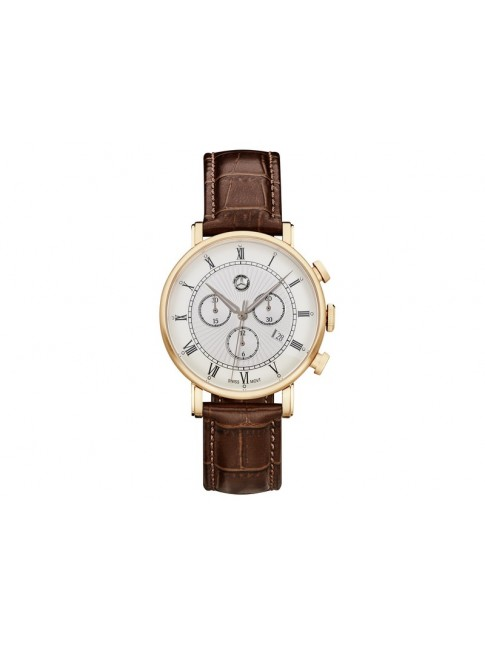 Montre-chrono homme, Retro Classic Gold