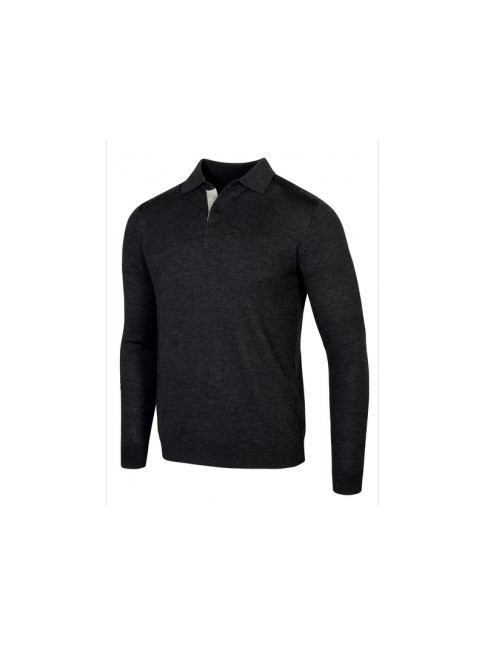 Pull-over polo homme