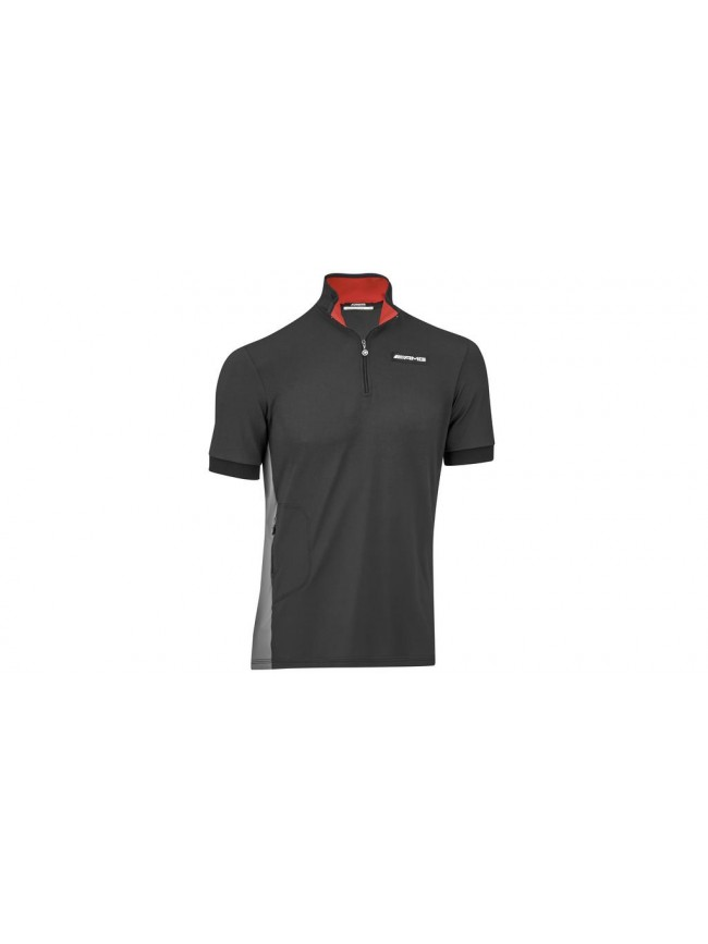 Polo fonctionnel homme AMG, Manches courtes